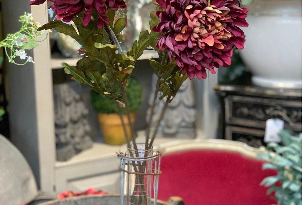 Faux Chrysanthemum Stem