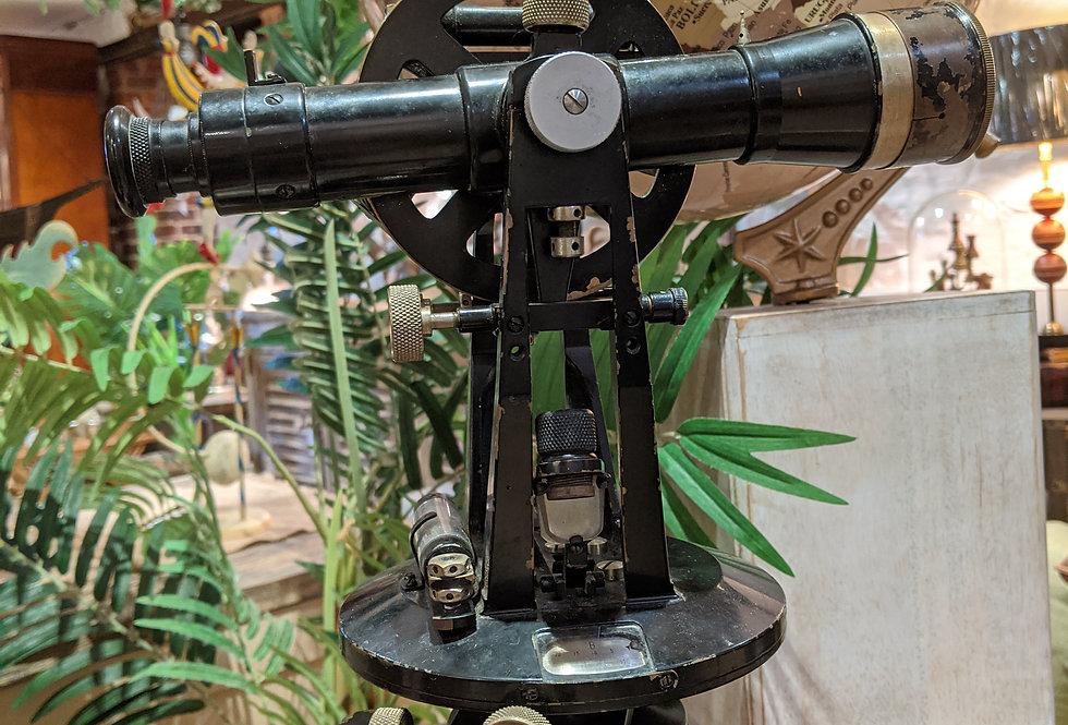 Antique Swivelling Theodolite Telescope