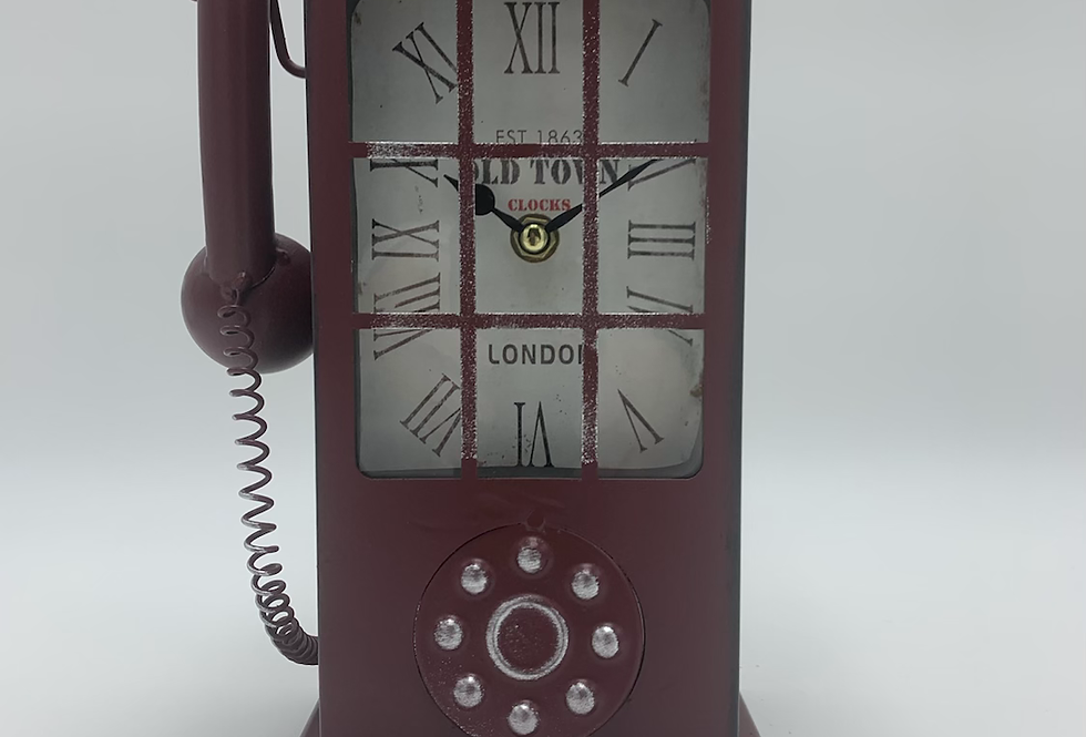 Telephone Clock
