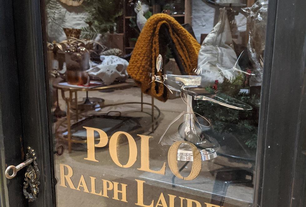 Black Polo Cabinet