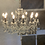 Thumbnail: 12 Arm Brown/Bronze Shallow Chandelier CH106
