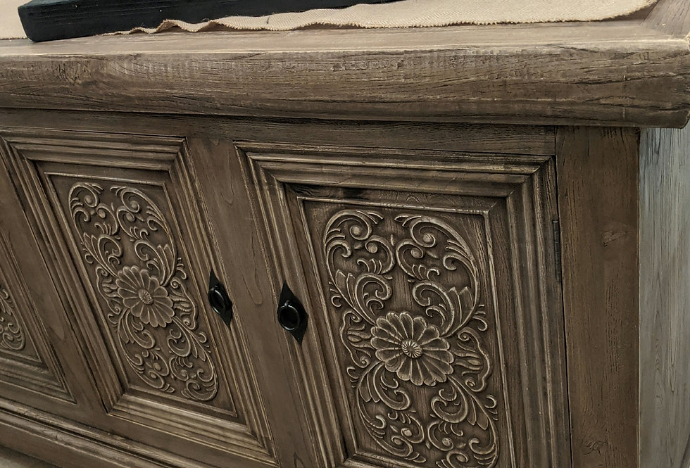 Large Carved Buffet