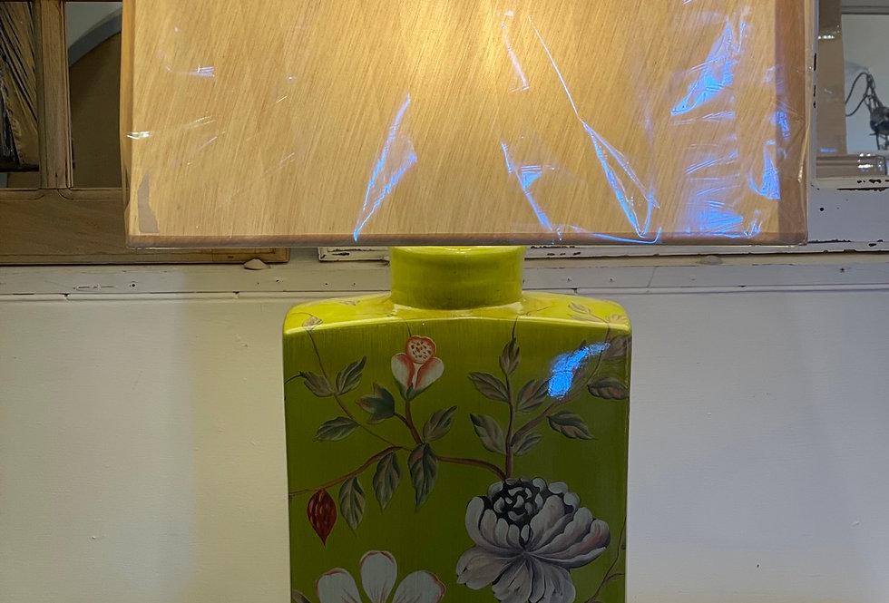 Green Lamp and Shade