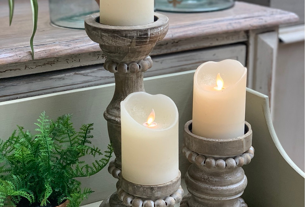 Bead Candle Holder