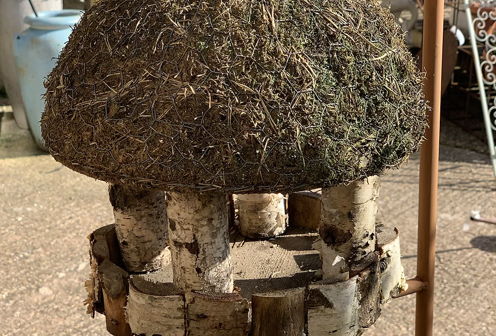 Small Round Birdhouse