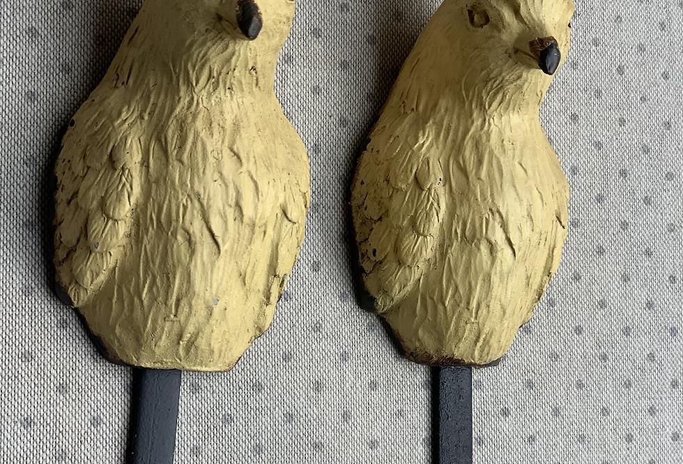 Gold Parrot Hook