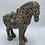 Thumbnail: Taupe Ceramic Horse