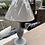 Thumbnail: Light Grey Small Table Lamp