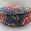 Thumbnail: Malisa Circular Blue Cushion