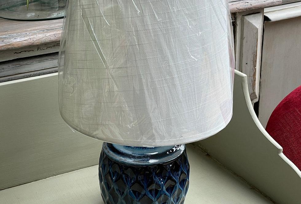 Blue Lamp & Shade