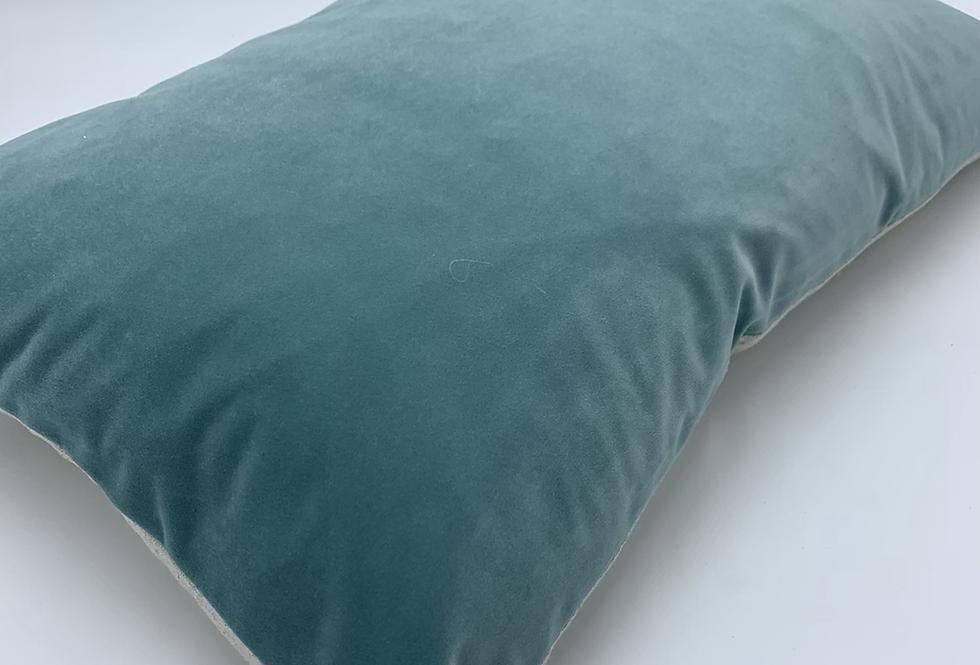 Contra Mist Blue Cushion
