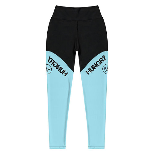 Power leggings in Blue