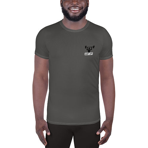 Just Lift Gym Shirt in Stone