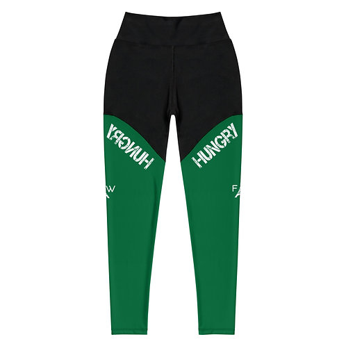 Power Leggings in Green