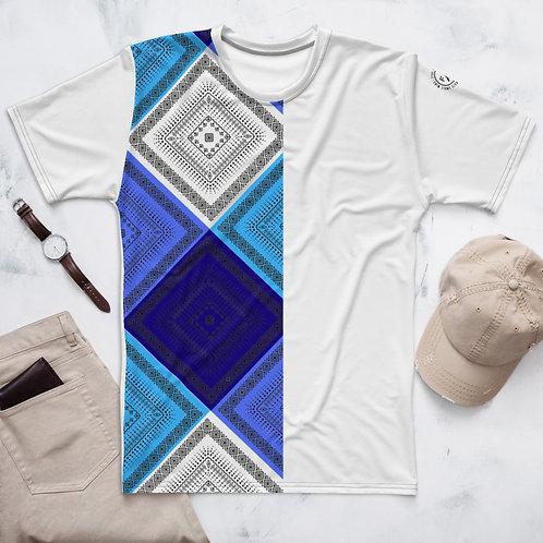 Mid Summer Blue's T-Shirt- Men's White