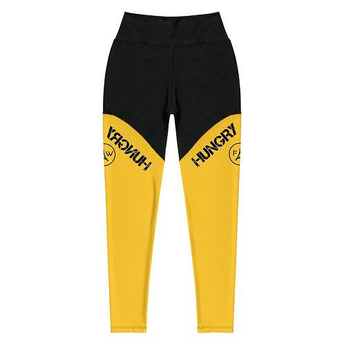 Power leggings in Yellow