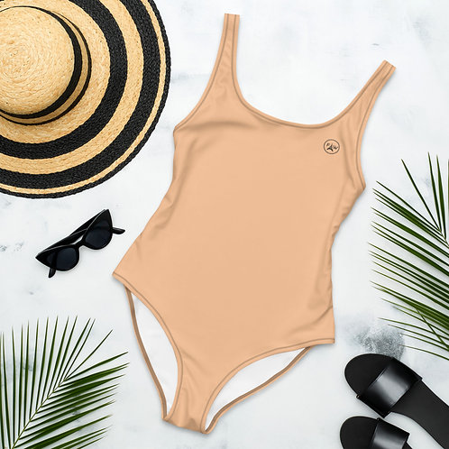 Basic One-Piece Swimsuit
