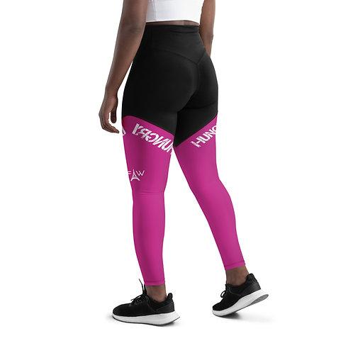 Power Leggings in Pink