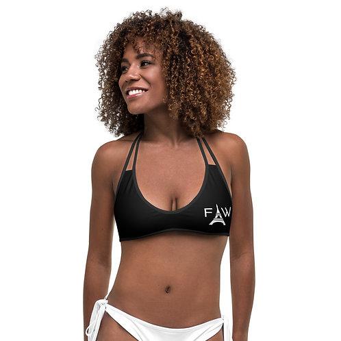 FWA Bikini Top Black