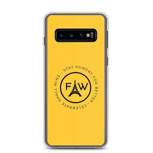 The Motto Samsung Case- Yellow