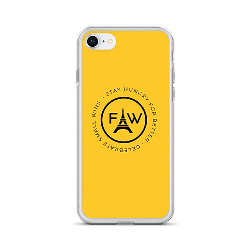 The Motto iPhone Case- Yellow