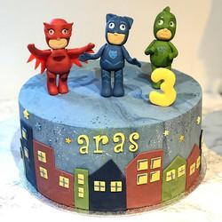 Pjmasks birthday cake for the handsome l