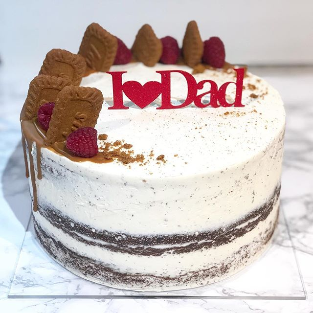 Papas Geburtstagstorte ♥️ #lotusandraspb