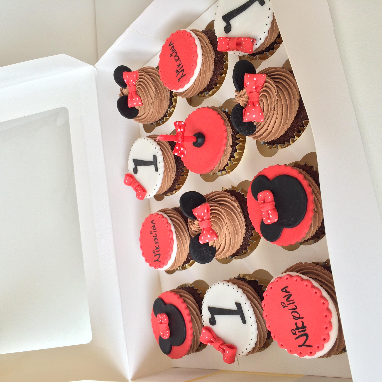 MinnieMouse Cupcakes