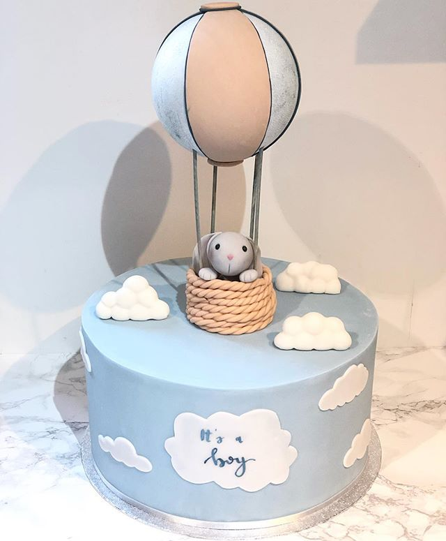 It's a boy 🐰 #babyshower_._._