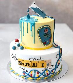 Diese Science Torte 🦠für meine wundersc