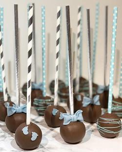 Eine Armee 💙 #cakepops #babyshower_._