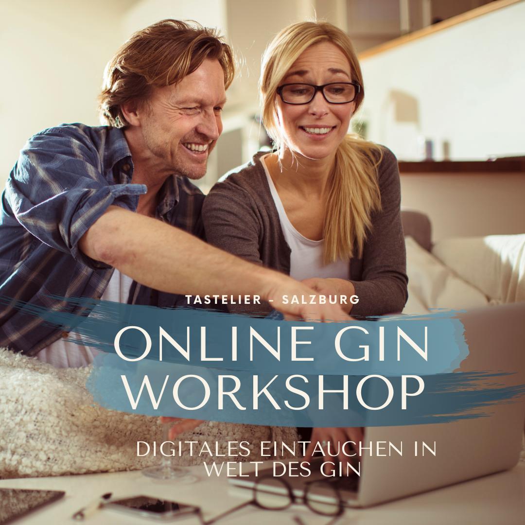 Gin Workshop | Online Verkostung