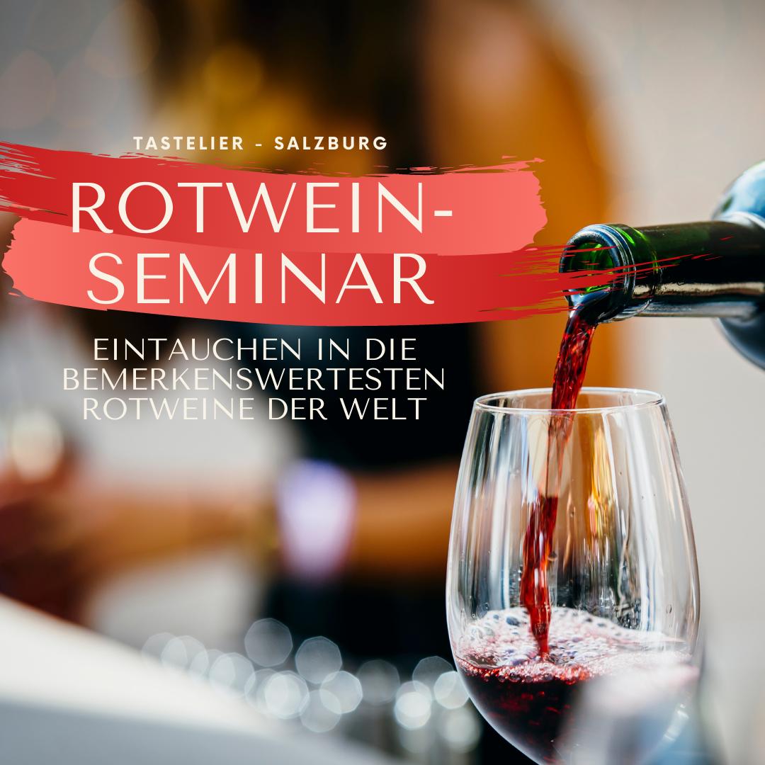 Weine der Welt | Rotwein-Seminar