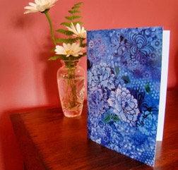 Art Card - Summer Blues