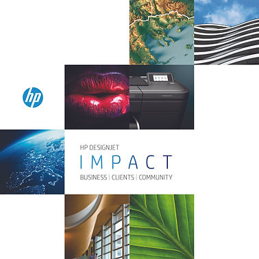 Family Brochure for HP Design Jets Cover