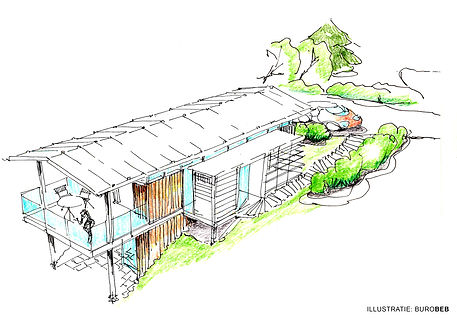 Klausen 1 - studie landgoedwoningen - Bu