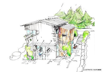 Klausen 2 - studie landgoedwoningen - Bu