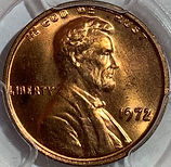 1972 Lincoln Cent Double Die Obverse