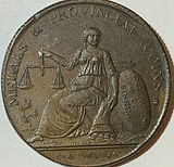 1791 - 1797 1/2 Penny Conder Token - United Kingdom