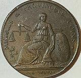 1791 - 1797 1/2 Penny Conder Token - United Kingdom