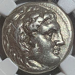 336 BC - 323 BC Kingdom of Macedon Alexander III Tetradrachm