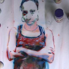 Lauren in process 2008