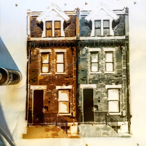 Row Houses in Process 2018
