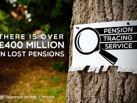 Over £400 million in lost pensions - is yours one of them?