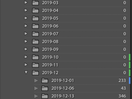 MY LIGHTROOM PHOTOGRAPHY WORKFLOW - FOLDER STRUCTURE - BACKUP STRATEGY