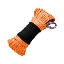 """Synthetic Rope Dyneema Fibre 3/8"""" x 100'ft.17,000 lbs. rating."""