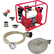 Fire Fighting Equipment $759.00 USD Protect yourself with our First Responder Fire Fighting System, Our High Pressure Fire Pump works with in seconds provided you have a source for water to pump