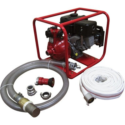 Complete Fire Fighting System withCart  EFPBS 1.5""