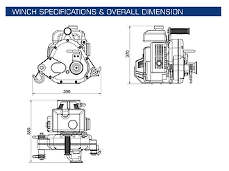 Endurance Equipment EPGW5 Specifications Image
