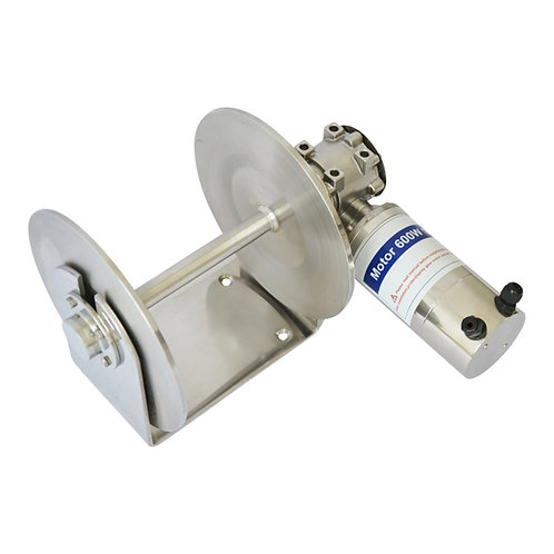 EDM400W-010SS Stainless Steel Drum Winch